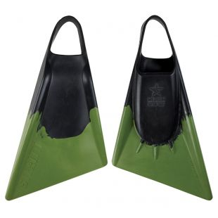 BODYBOARD SWIMFINS STEALTH S2 BLACK/ARMY