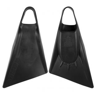 BODYBOARD SWIMFINS STEALTH S2 BLACK/BLACK