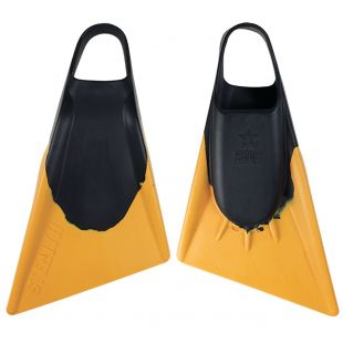 BODYBOARD SWIMFINS STEALTH S2 BLACK/GOLD