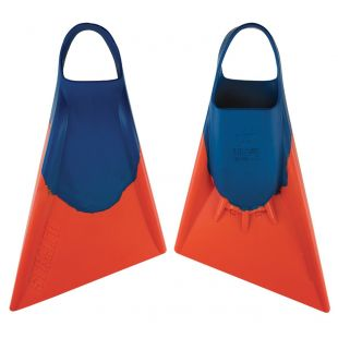 BODYBOARD SWIMFINS STEALTH S2 BLUE/ORANGE