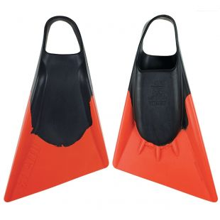 BODYBOARD SWIMFINS STEALTH S2 BLACK/ORANGE