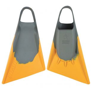 BODYBOARD SWIMFINS STEALTH S2 GREY/GOLD