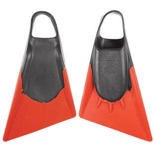 BODYBOARD SWIMFINS STEALTH S2 GREY/ORANGE