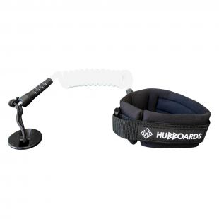 HUBBOARDS BICEPS LEASH LOGO
