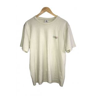 ZION OLYMPIC GOLD EMBROIDERED T-SHIRT