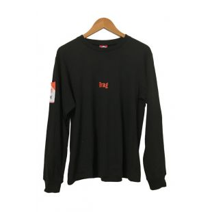 DRAG CIGGY POCKET LONG SLEEVE TEE
