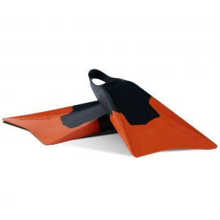 BODYBOARD SWIMFINS VULCAN V1 GREEN/ORANGE