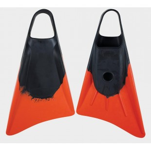 PALMES BODYBOARD STEALTH S1 CLASSIC FINS BLACK/ORANGE