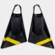 BODYBOARD SWIMFINS STEALTH S2 PINNACLE FINS BLACK/FLURO YELLOW
