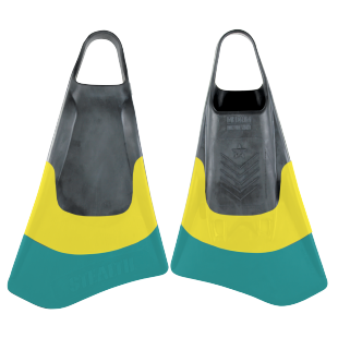 BODYBOARD SWIMFINS STEALTH S4 FINS RETRO