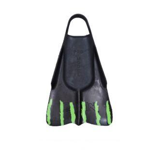 BODYBOARD SWIMFINS DAFIN BRIAN KEAULANA BLACK GREEN