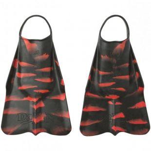 BODYBOARD SWIMFINS DAFIN PRO SIGNATURE ZAK NOYLE BLACK RED