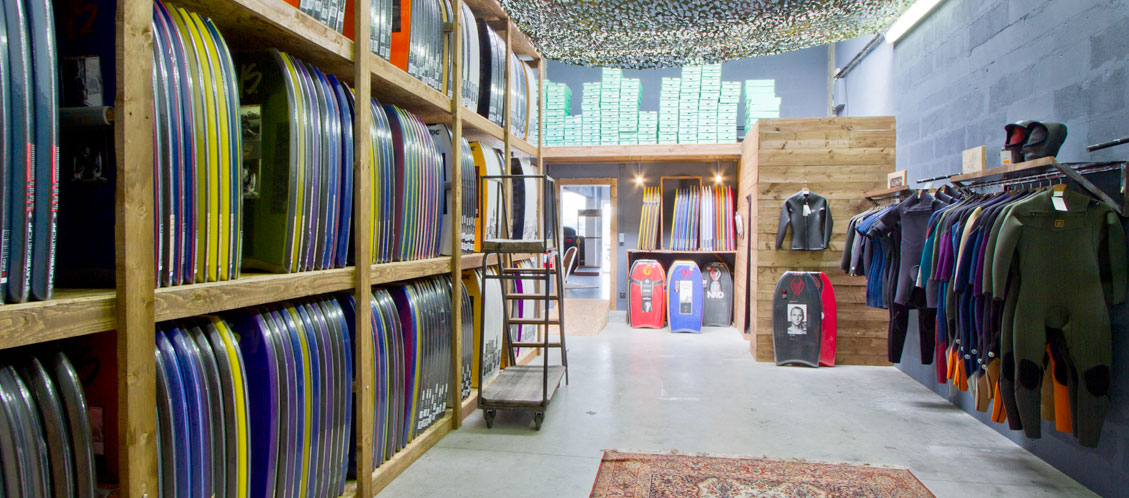 Bodyboard center store